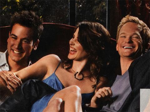 Ted, Robin e Barney