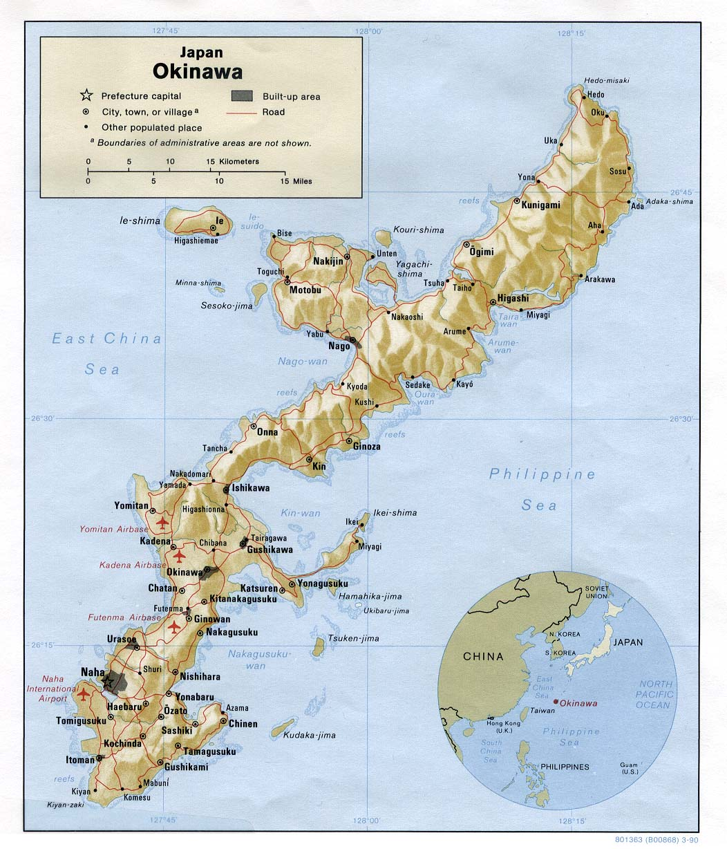 Okinawa_relief_Map_1990