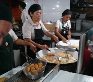 Feirinha do CEASA CEAGESP Tempurá do Hara Culinária JAponesa