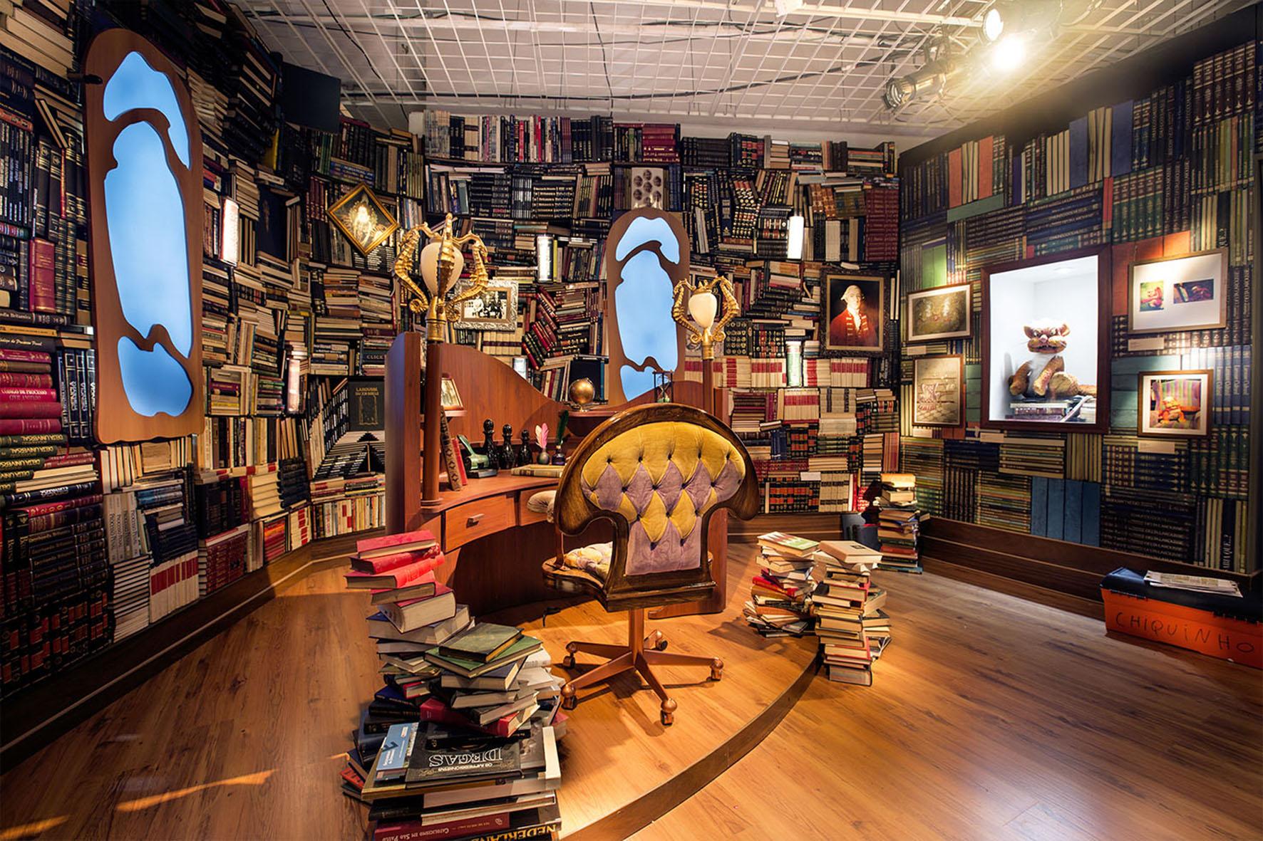 Biblioteca Castelo Rá-Tim-Bum A exposição Crédito Letícia Godoy