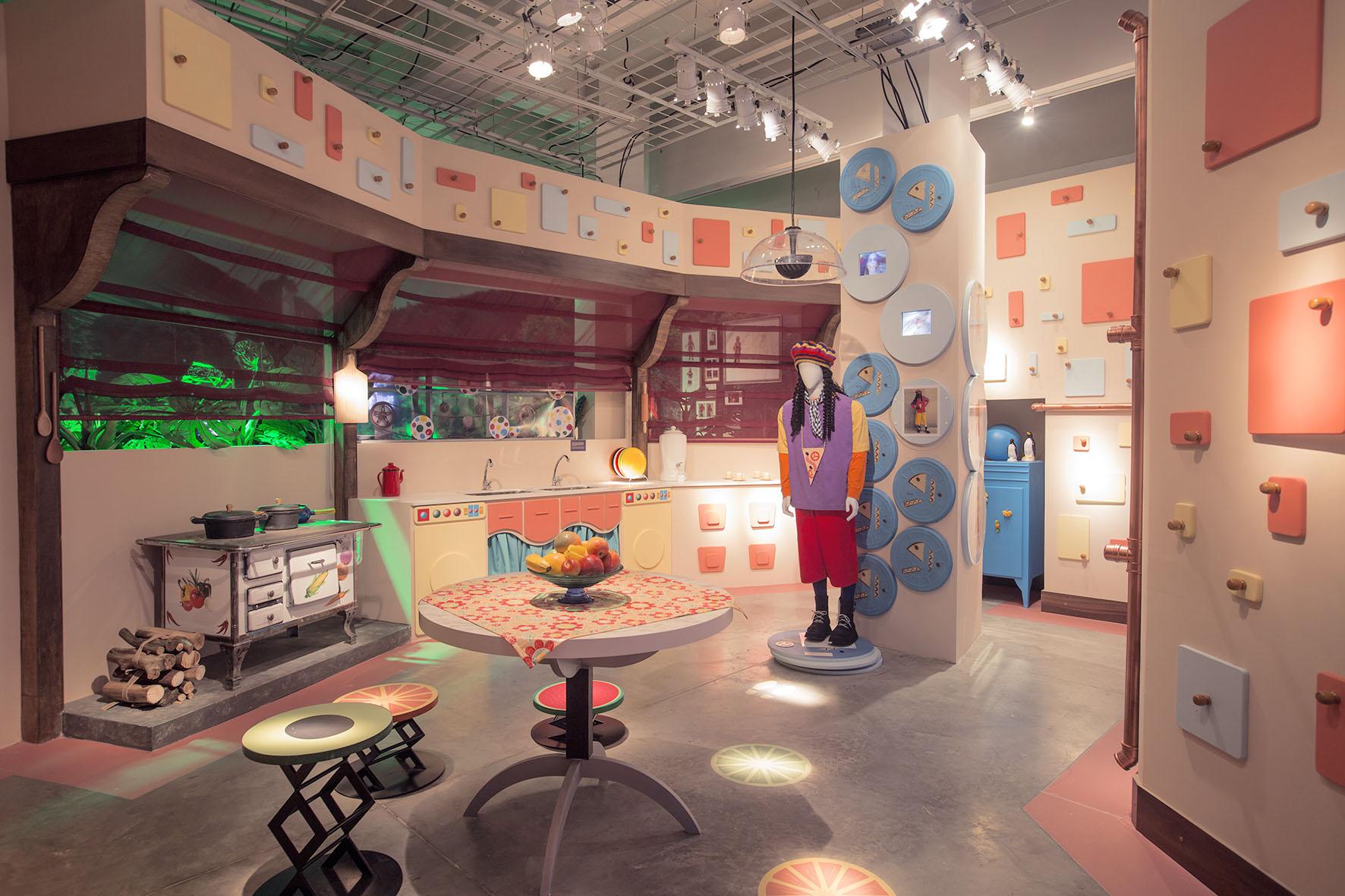 Cozinha Castelo Rá-Tim-Bum A exposição