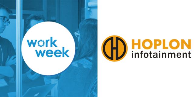 Logo da Hoplon e do evento Work Week