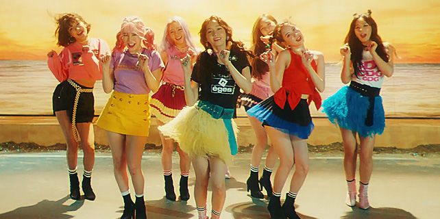 Girls Generation no clipe Holiday
